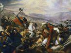 La batalla de Poitiers, 732, pintada en 1837.