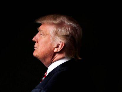 Donald Trump, durante entrevista para Reuters, em 17 de maio passado.
