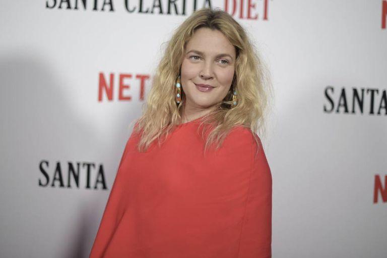 Drew Barrymore na apresentação de 'Santa Clarita Diet', a série da qual é protagonista na Netflix, em 22 de março.