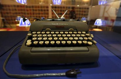 A primeira Smith Corona de García Márquez.