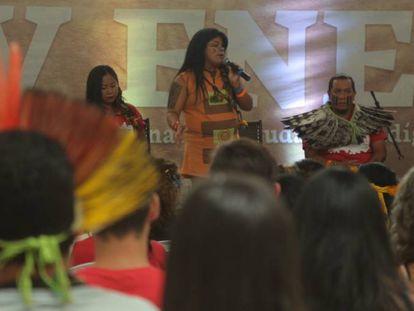 Encontro nacional de estudantes indígenas incluiu pauta LBTQI.
