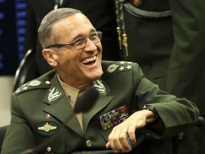 O comandante do Exército, general Eduardo Villas Boas.