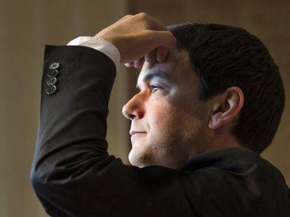 Thomas Piketty. / Consuelo Bautista (EL PAÍS)