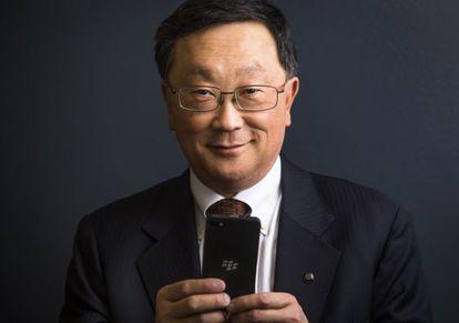 John Chen, chefe da Blackberry.