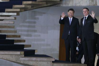 13 11 2019. Brasilia. O presidente Jair Bolsonaro recebe Xi Jinping, no Palácio do Itamaraty, em Brasília.  POOL
