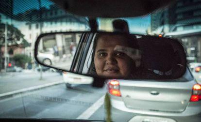 Recuperada de uma depressão, Eliane criou um grupo no Whatsapp para cuidar dos hábitos de trabalho de outras motoristas
