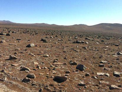 O deserto do Atacama é o lugar da Terra mais parecido com Marte.