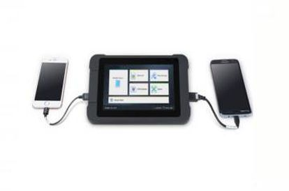 Imagem do equipamento da Cellebrite, usado para recuperar mensagens.