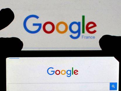 Portal do buscador Google.