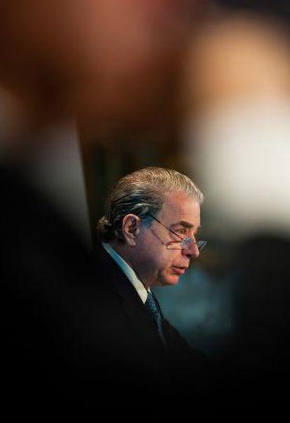 Ricardo Salgado, presidente do Banco Espírito Santo.