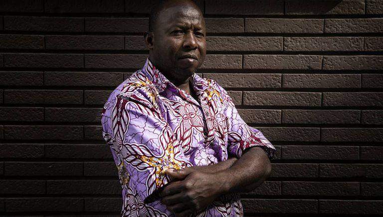 Sissoko, um malinês radicado na Espanha.