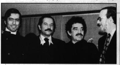 Vargas Llosa, Carlos Fontes, García Márquez e José Donoso, nos 70.