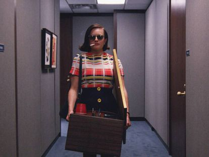 Peggy Olson, em 'Mad Men'.