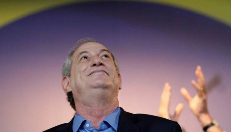 Ciro Gomes na convenção do PDT, em 20 de junho.