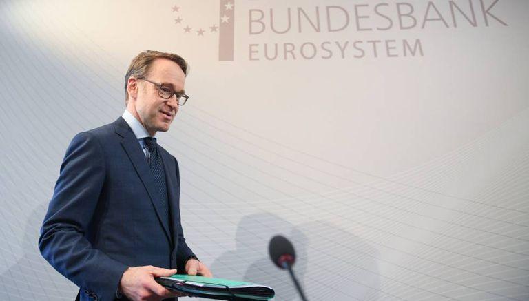 Jens Weidmann, presidente do Bundesbank.