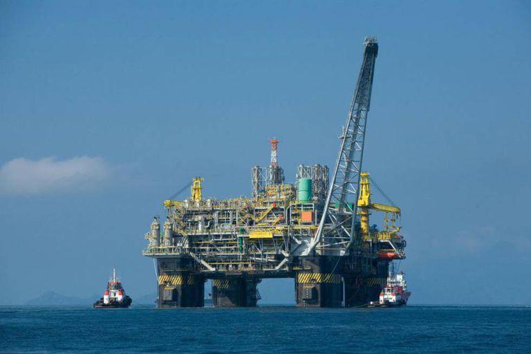 Plataforma da Petrobras.
