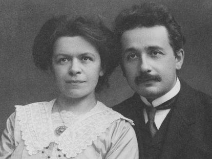 Mileva Maric e Albert Einstein.