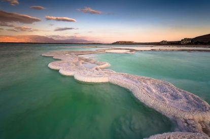 O mar Morto poderá desaparecer completamente em 2050.