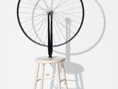 'Bicycle Wheel', de Marcel Duchamp.