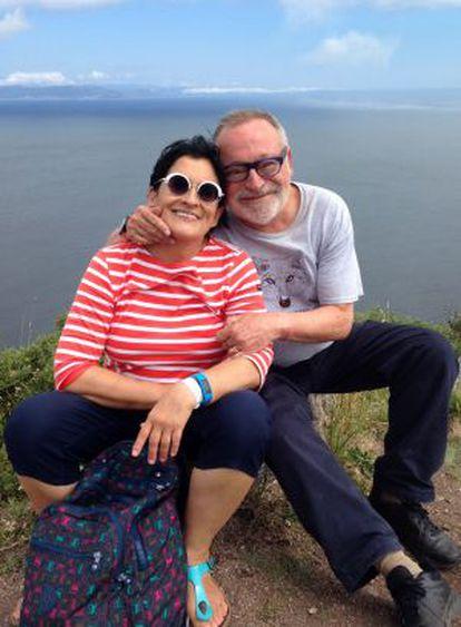 Fernando Savater e sua mulher, Sara Torres.