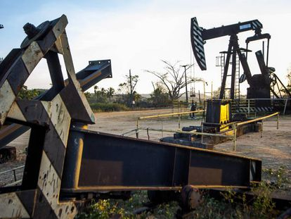 Poço de exploração em Carmópolis: área será a única, em terra, que permanecerá sob concessão da Petrobras em Sergipe.