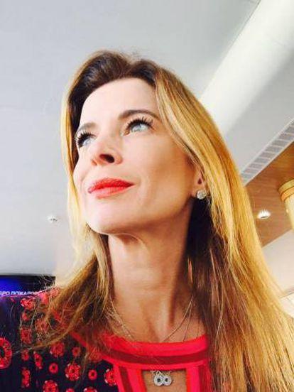 A jornalista Claudia Cruz