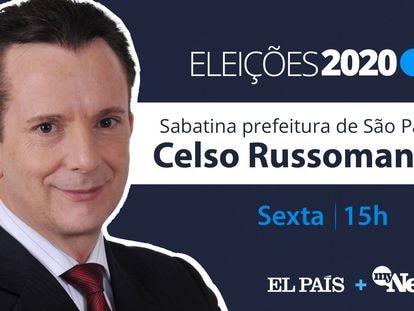 Celso Russomanno, candidato do Republicanos à Prefeitura de São Paulo.