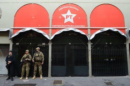 Sede nacional do PT em São Paulo.