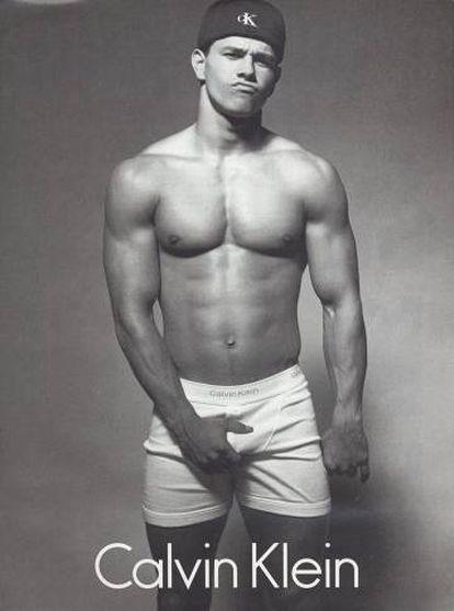 No início dos anos 90, antes de decidir que queria ser ator, Wahlberg foi o protagonista de uma das campanhas mais populares da Calvin Klein