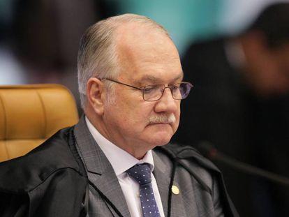 O ministro Edson Fachin, relator da Lava Jato.