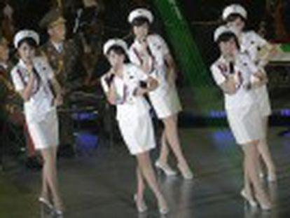 Grupo musical mais popular do regime norte-coreano faz concerto no 70º aniversário do Partido dos Trabalhadores