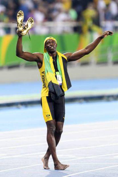 As técnicas de Hans-Wilhelm curaram Usain Bolt.