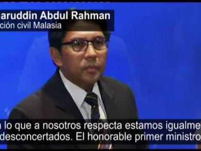Azharuddin Abdul Rahman, diretor da Aviación Civil de Malasia.