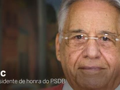 O ex-presidente Fernando Henrique Cardoso recebeu o EL PAÍS em seu escritório em São Paulo.