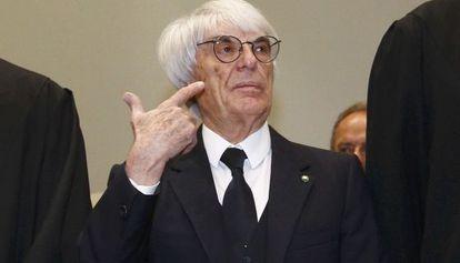 O dono da Fórmula 1, Bernie Ecclestone.