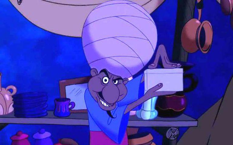 O vendedor de Aladdin