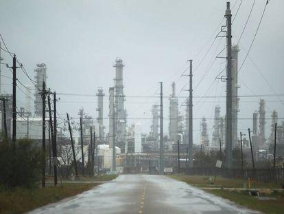 Refinaria de petróleo fora de serviço em Corpus Christi