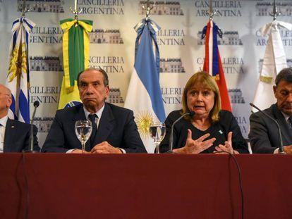 Ministros das Relações Exteriores dos países membros do Mercosul