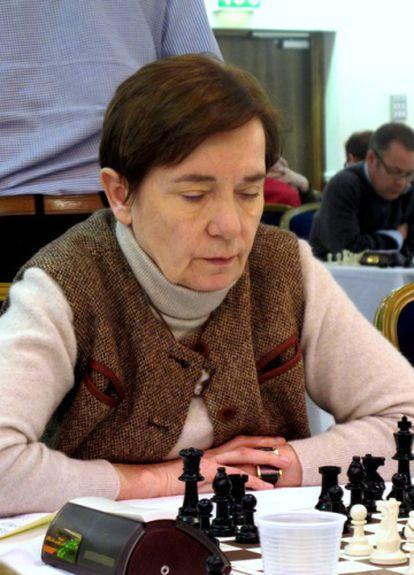 A doutora Jana Bellin, presidenta da Comissão Médica da FIDE.
