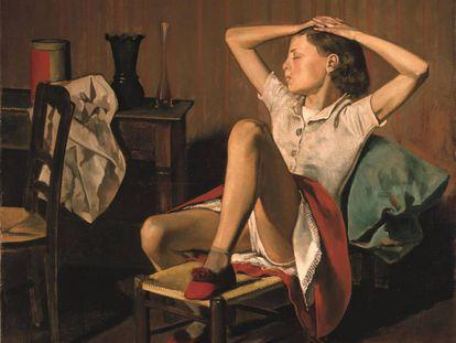 'Teresa sonhando' (1938), de Balthus.