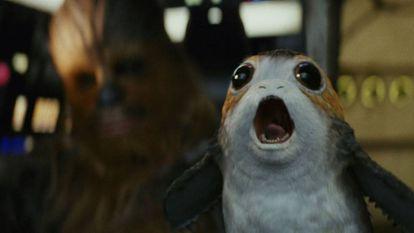 Os Porgs se unem ao universo de 'Star Wars'.