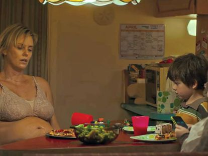 Charlize Theron em 'Tully', de Jason Reitman