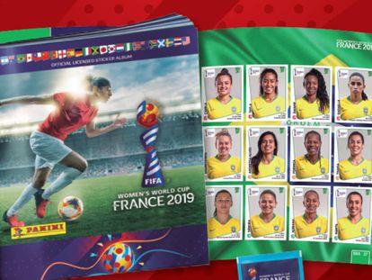 O álbum da Copa do Mundo feminina 2019 da Panini.