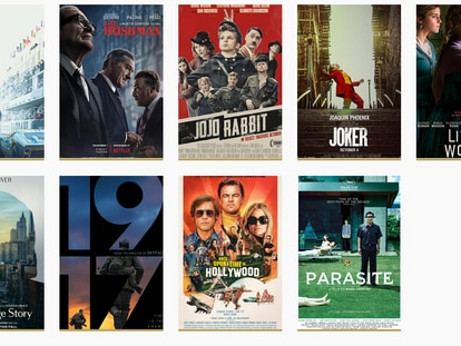 Cartazes originais dos nove indicados ao Oscar 2020 Melhor Filme.