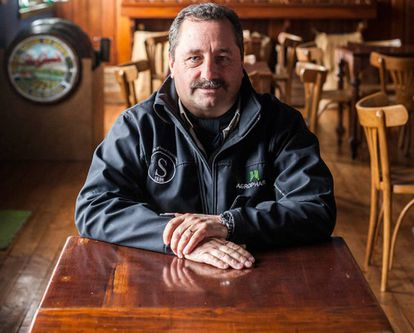 Ronald McDonald, administrador das fazendas da Benetton.