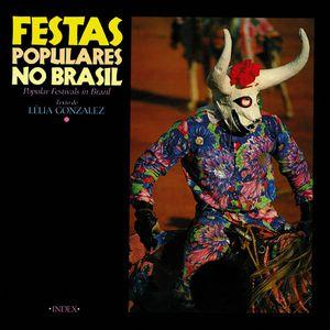 Capa do livro 'Festas populares no Brasil', de Lélia Gonzalez.