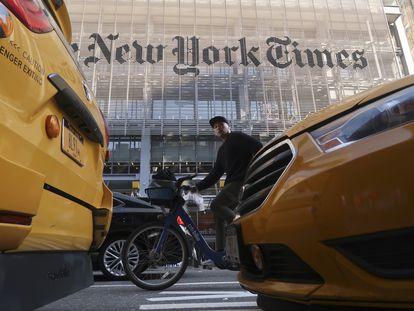 Sede do 'The New York Times', em Nova York.