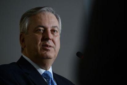 O ministro brasileiro das Relações Exteriores, Luiz Alberto Figueiredo Machado.