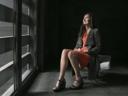 May-Britt Moser, Prêmio Nobel de Medicina em 2014, na quarta-feira em Madri.
