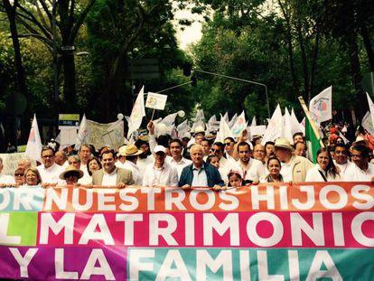 Marcha em defesa da família tradicional